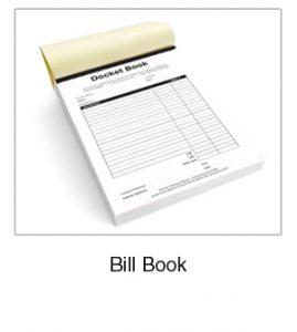 Bill Book Print