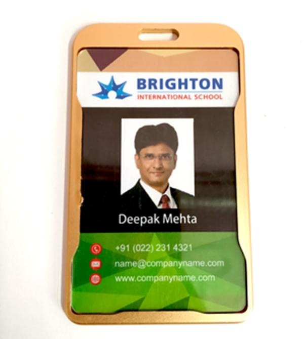 Aluminum Card Holder
