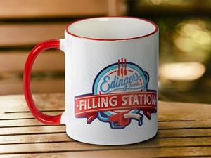 Two Tone Mug Printing
