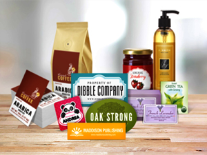 Brand Packaging Stickers & Labels